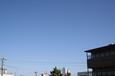 空は一面青色・・・秋の空