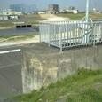 62 三階橋ポンプ場より矢田川を望む